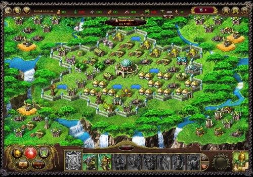 Скриншот из браузерной игры My Lands