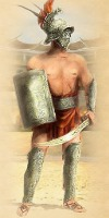 Фракиец гладиатор