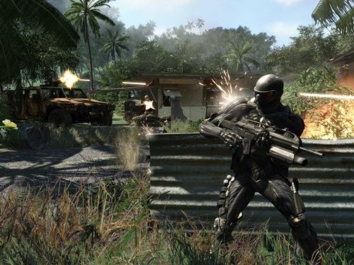 Crysis - геймплей
