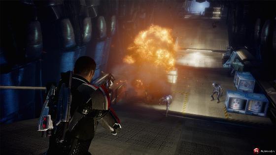 Скриншоты из игры Mass effect 2