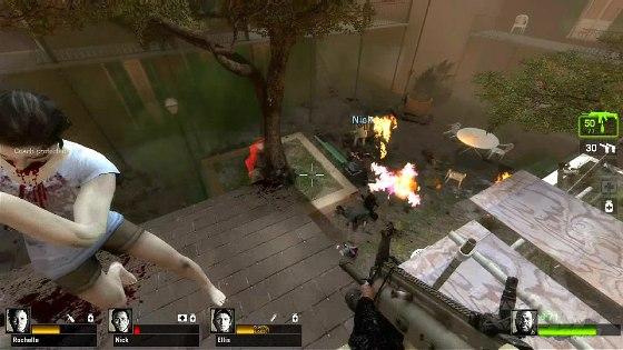 Left 4 Dead 2 - геймплей