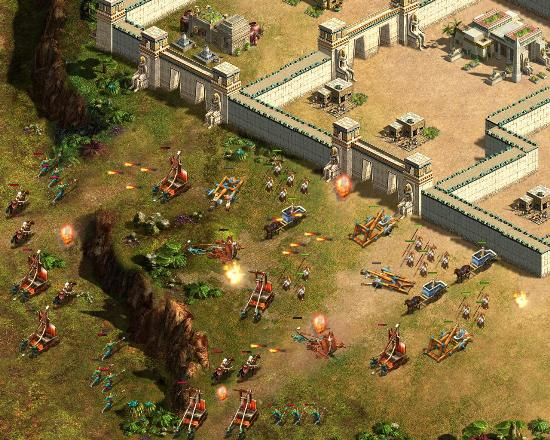 Скриншот из игры Войны Империй