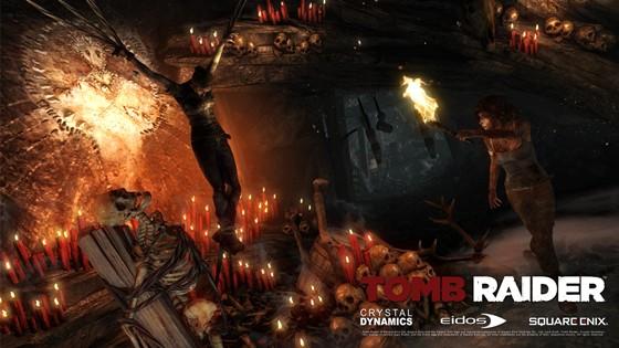 Скрины Tomb Raider 2012