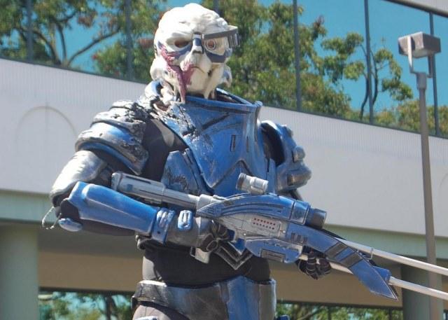 Гаррус Вакариан - косплей по компьютерной игре Mass Effect 2