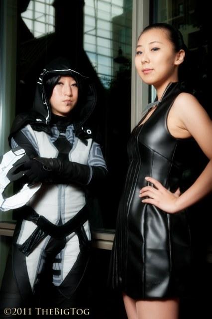 Касуми Гото - косплей по второму Масс Эффекту (36 фото)