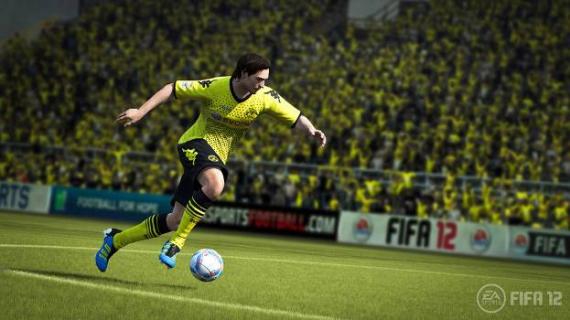 FIFA 12 - девятнадцатая футбольная игра из серии