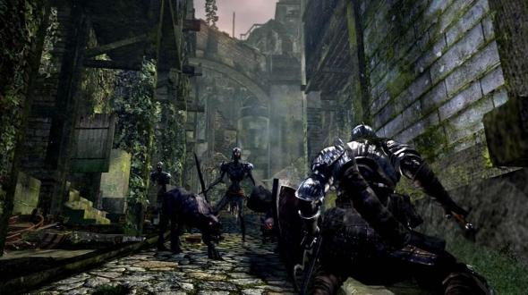 Dark Souls - геймплей