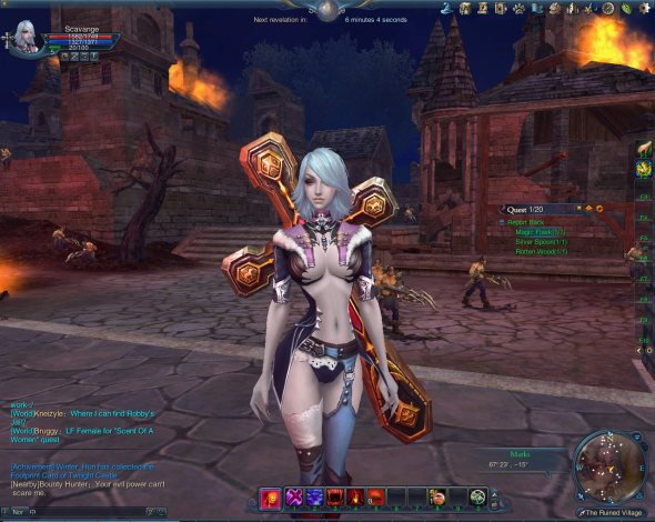 Скрин из игры Forsaken World