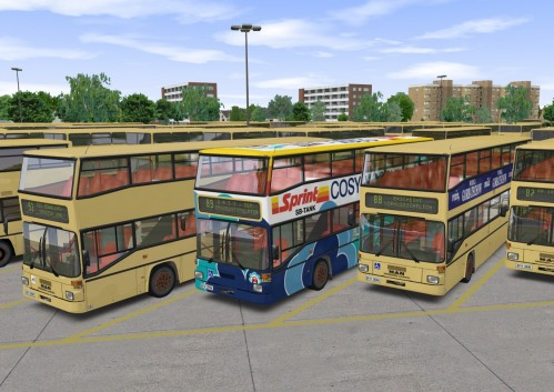 Обзор игры OMSI The Bus Simulator OMNI-Der-Autobussimulator