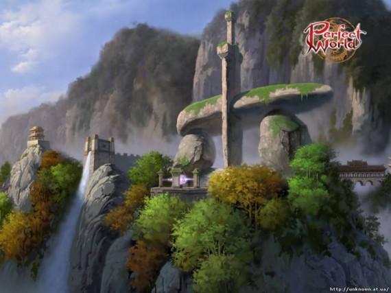 Красивые пейзажи в Perfect World