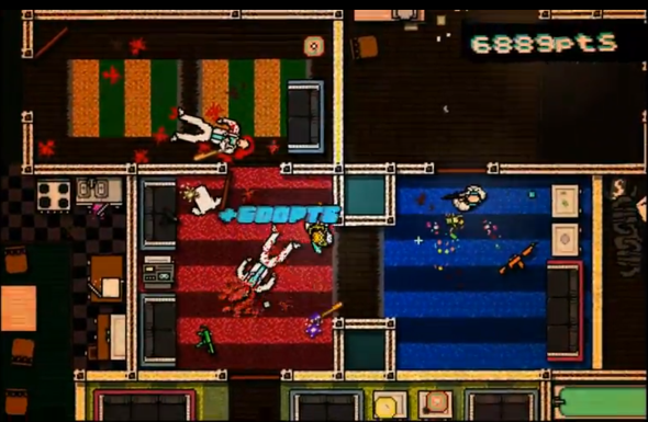 Hotline Miami - кровавый 2D экшен