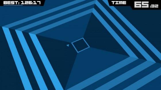 Синий шестиугольник