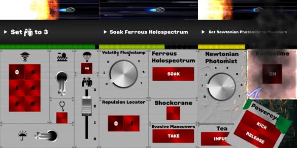 Spaceteam - динамичная космическая iOS игра, похожая на FTL и Artemis