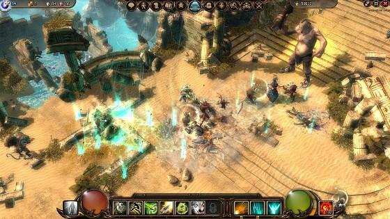 Скриншоты из игры Drakensang Online