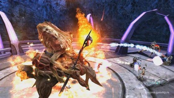Dragona Online - геймплей