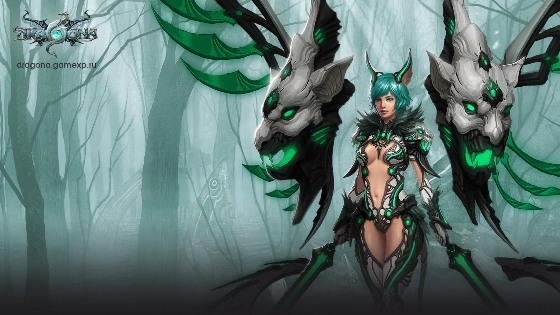 Dragona Online - новая фэнтези MMORPG с элементами Sci-Fi