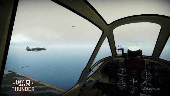 Скриншот из игры War Thunder