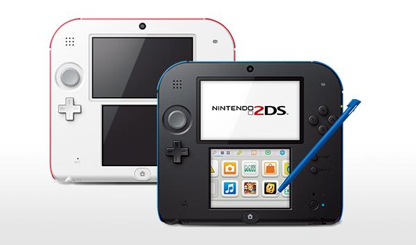 Nintendo 2DS - новая бюджетная консоль