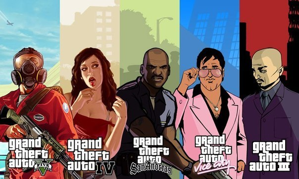 Grand Theft Auto: больше никакого Лондона.