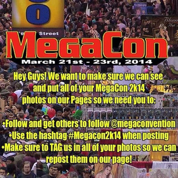 Первые фото и видео с конвента MegaCon 2014