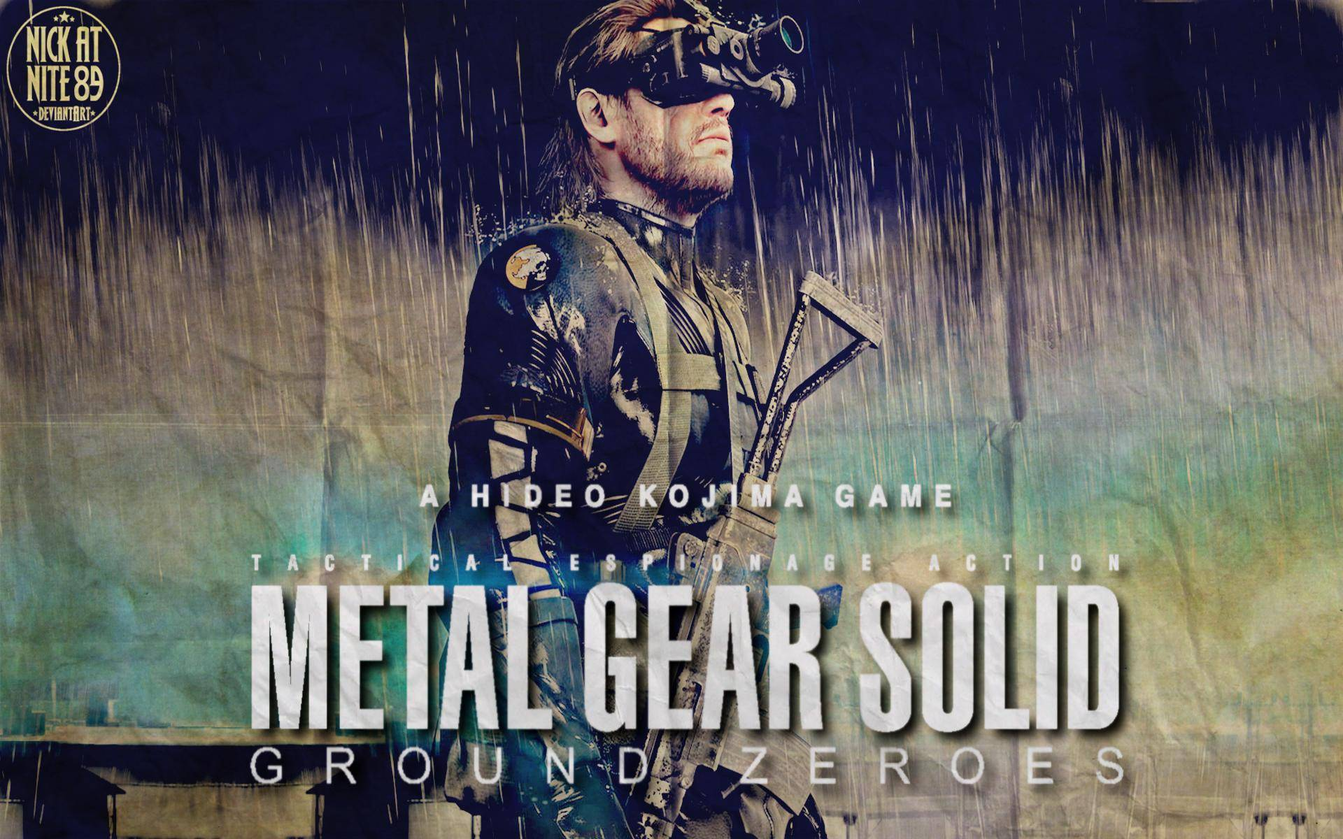 Игра metal gear solid v ground zeroes