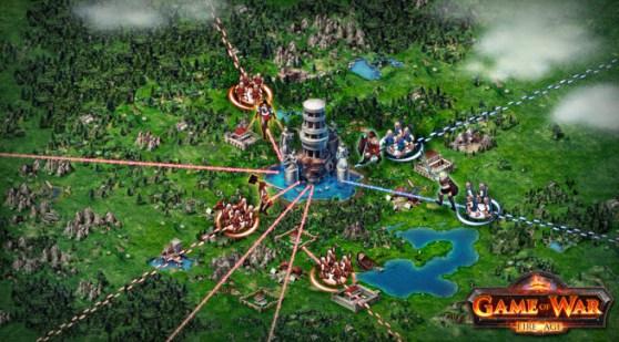 Game of War: Fire Age - многопользовательская стратегия для мобильных устройств