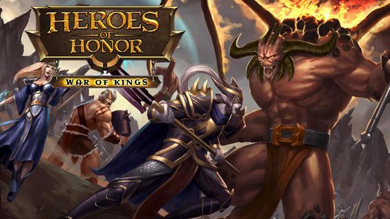 Heroes of Honor - бесплатная iOS игра-приложение в жанре стратегии