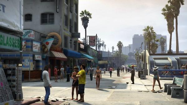 Геймплей игры GTA 5: Grand Theft Auto