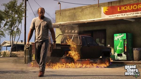 Сюжет игры GTA 5: Grand Theft Auto