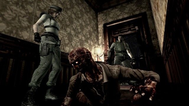 Resident Evil: Remastered геймлей