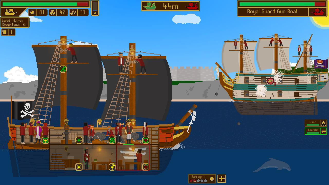 Seaworthy: морские сражения в стиле FTL
