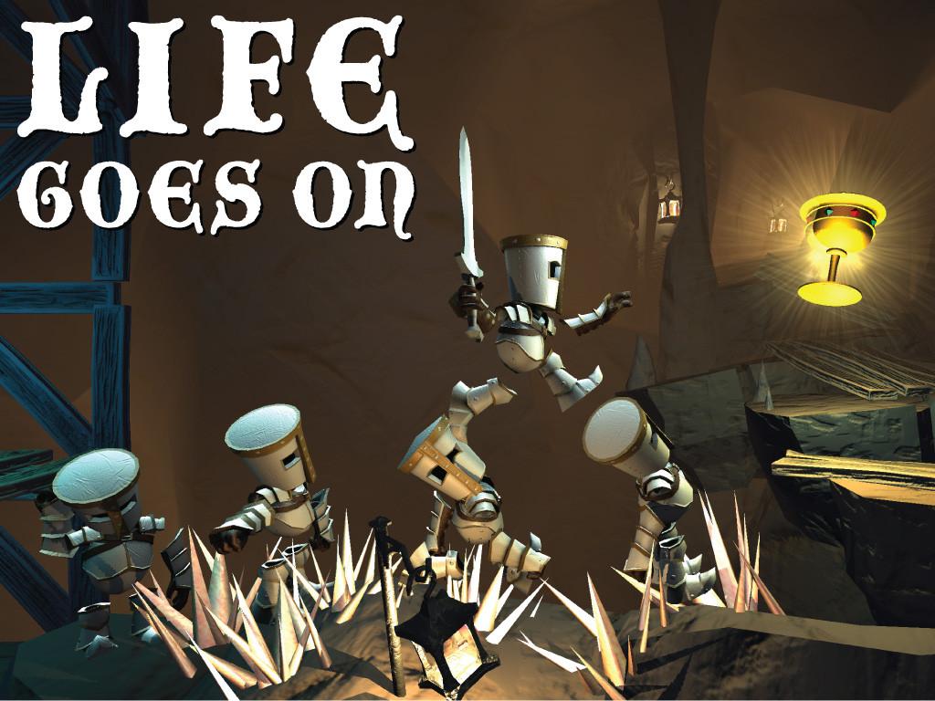 Life Goes On - игра в путешествие по трупам