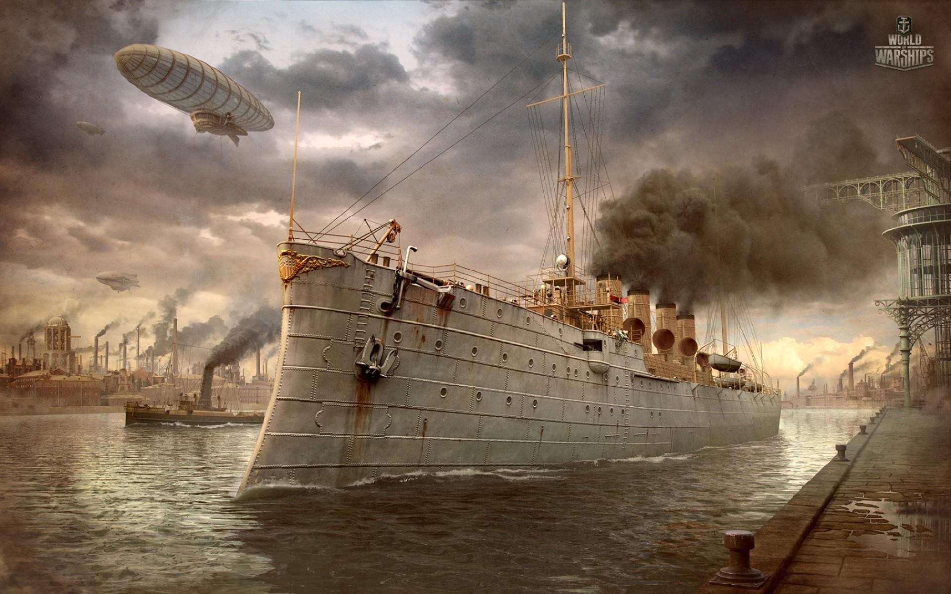 Игра World of Warships (Мир кораблей) вышла в закрытый бета-тест: обзор, геймплей