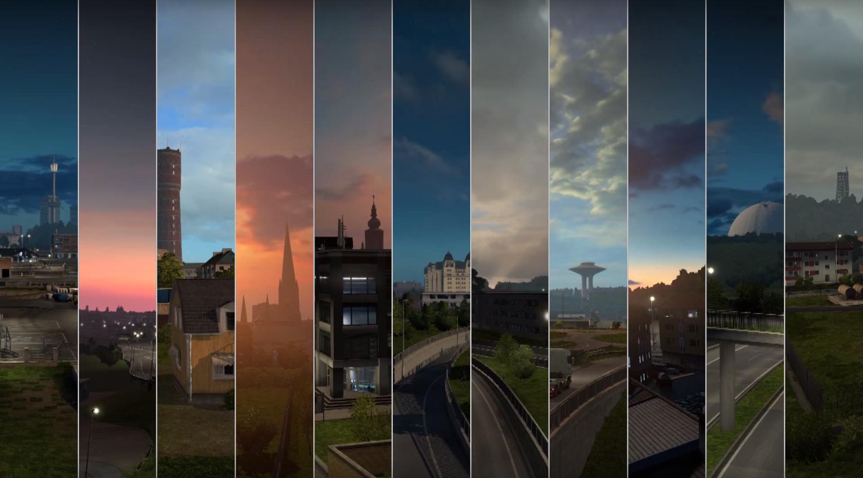 Видео-трейлер к выходу Euro Truck Simulator 2 - Scandinavia