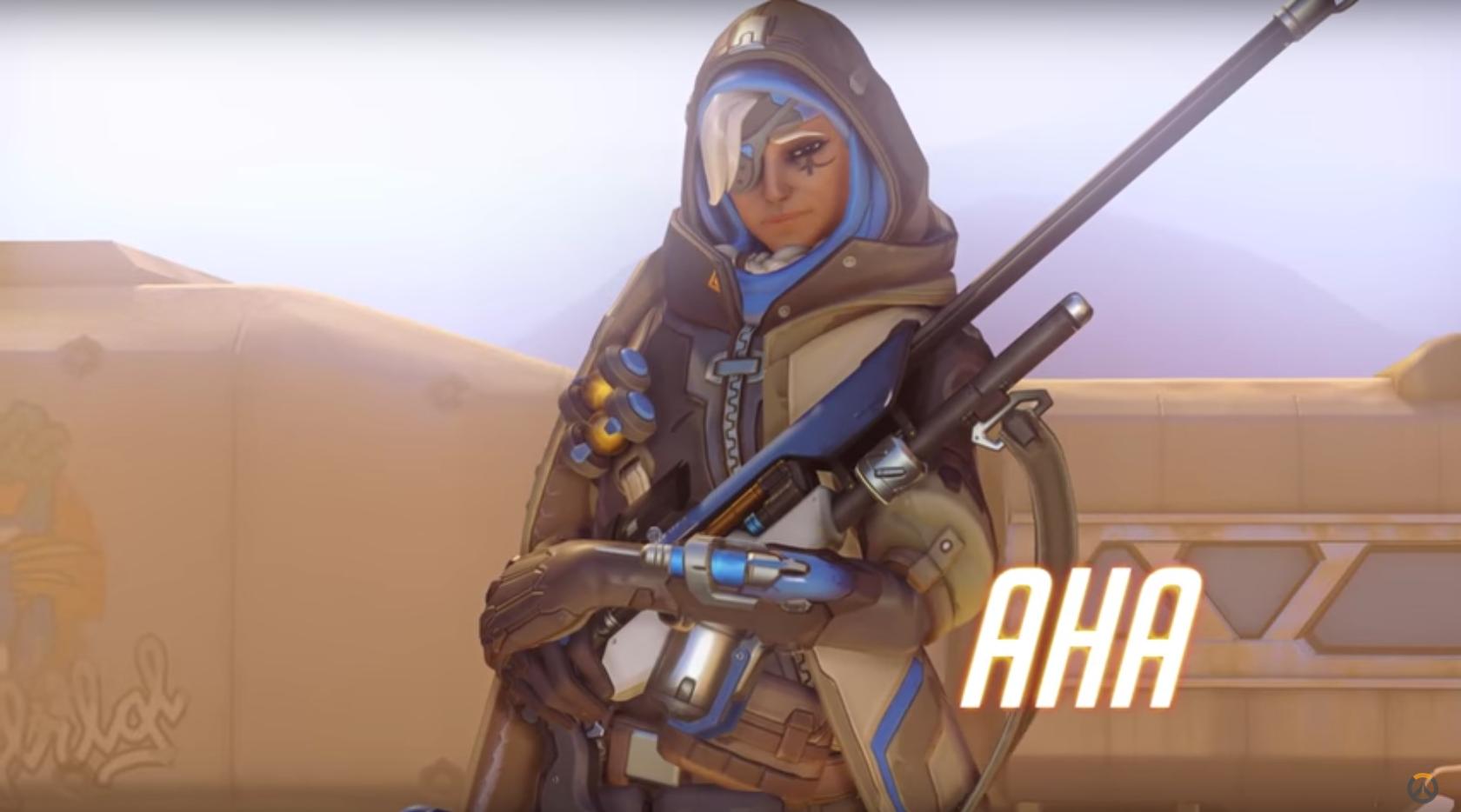 Ана: новый персонаж из Overwatch и её история