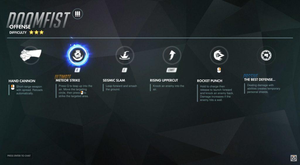 Гайд: как играть за Кулак смерти (Doomfist) из Overwatch и контрить его