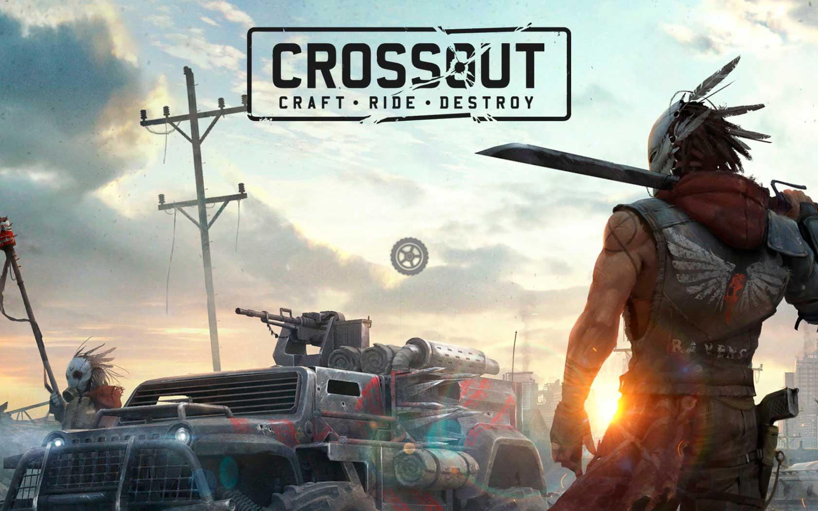 Crossout (Кроссаут) - постапокалиптический автомобильный MMO-экшен - обзор игры