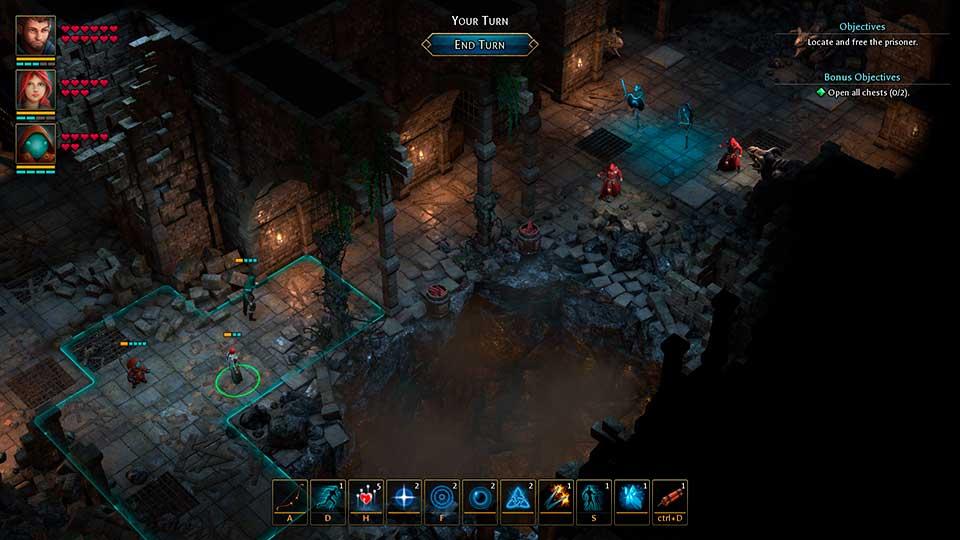 Druidstone: The Secret of the Menhir Forest - тактическая RPG от создателей Grimrock - выходит весной 2019