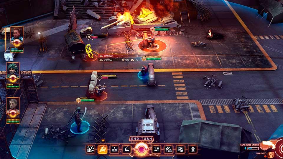Научно-фантастическая тактическая RPG Element Space вышла в ранний доступ
