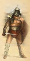 Гопломах гладиатор