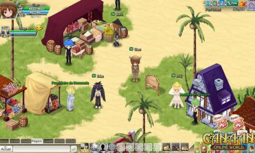 Обзор онлайн аниме игры Canaan Online