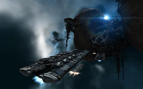 EVE Online: хождение между станциями