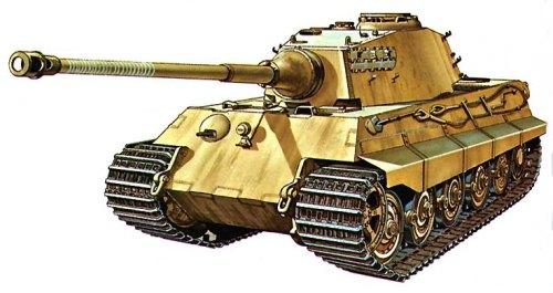 World of Tanks: тяжелый танк Королевский тигр