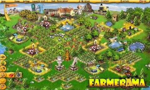 Farmerama - геймплей