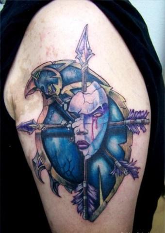 Татуировки в стиле WoW