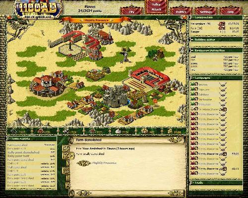 1100 AD - онлайн стратегическая игра