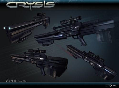 Крайзис - оружие