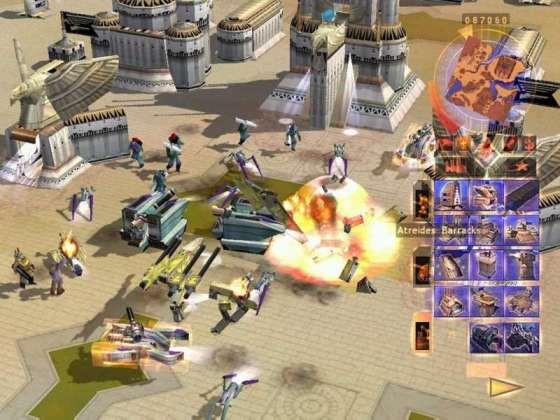 Скриншот из игры Dune