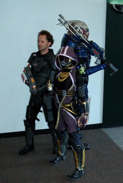 Косплей по компьютерной игре Mass Effect 2