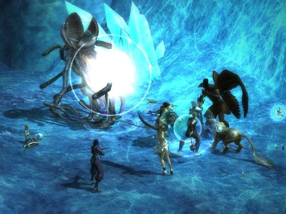 Скриншот из игры Rappelz
